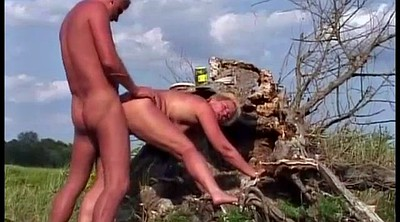 German mature, Anal granny