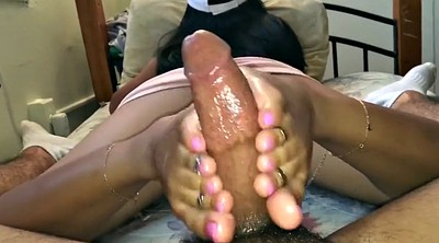 Footjob, Asian foot