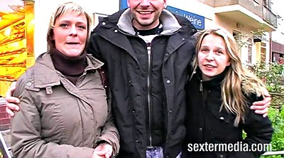 German casting, Threesome casting