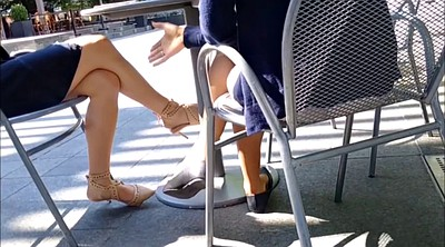 Legs, Candid, Two girls