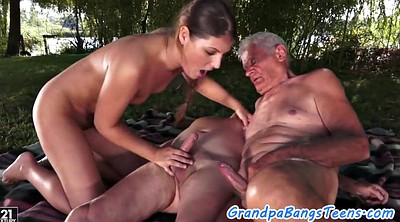 Granny, Creampie, Granny creampie, Old men, Old young, Gay old