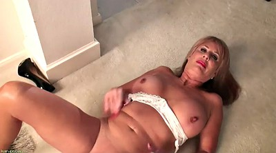 Solo orgasm, Mature solo, Busty mature