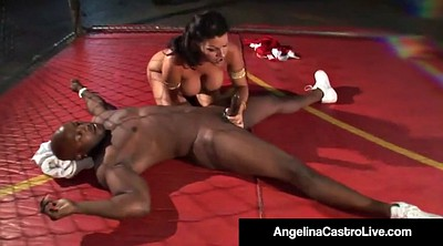 Angelina, Angelina castro, Fight, Cage