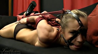 Hogtied, Gagging