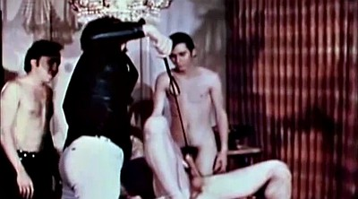 Group, Vintage spanking, Gay spanking
