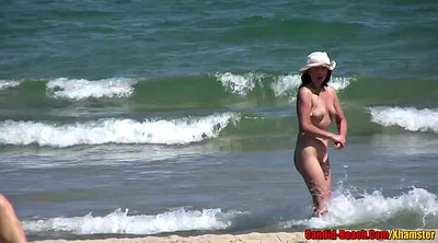 Voyeur wife, Wife beach, Mature latina, Hidden wife