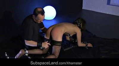Bondage, Small, Throat fuck, Teen slave, Swallowing, Cum in throat