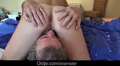 Older, Granny blowjob