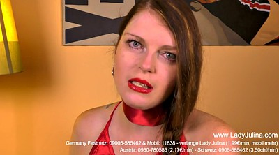 Submissive, German femdom