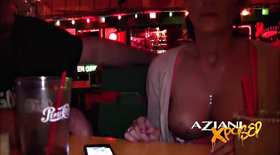 Upskirt, Public flashing, Bar, Bartender