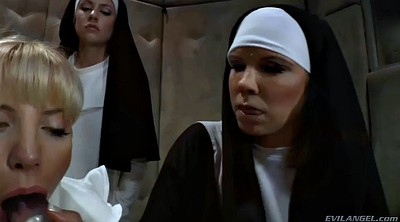 Anal punishment, Throated, Nuns, Anal punished