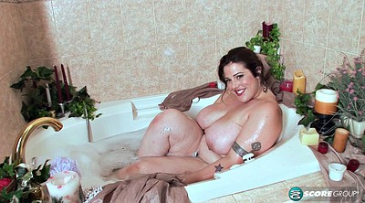 Shower, Bath, Fat tits, Bbw hd, Tub