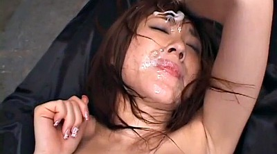 Japanese bukkake, Gangbang asian