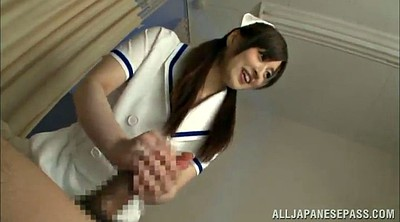 Pantyhose, Pantyhose handjob, Nurse blowjob, Handjob hard, Big cock asian