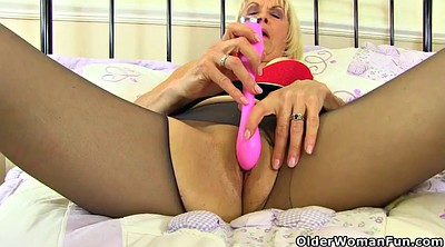 English, Nylon, British granny