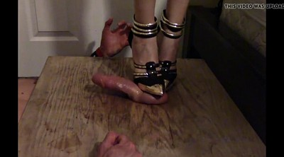 Cbt, Trample, High heels, Trampling