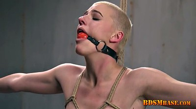 Short hair, Tied, Tied up, Tied tits