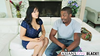 Asian anal, Black cock