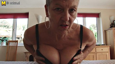 Breast, Breasting, British granny
