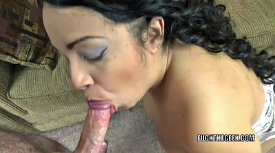 On her knees, Housewife, Mature latina
