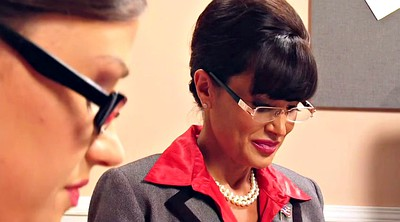 Office, Lisa ann, Smoking, Office lesbian, Lesbian lesbian