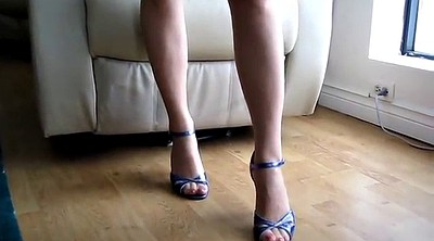 High heels, Hand, Trampling, Trample