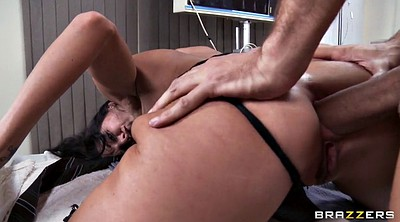 Ava addams, Anal finger