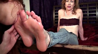 Foot worship, Mature feet, Aunt, Lesbian foot worship, Foot fetish, Sole