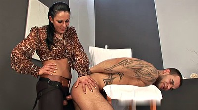 Mistress, Big cock shemale, Mistress cumshot