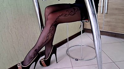Pantyhose, Stocking, Shoe, High heeled stockings, High-heeled shoes