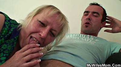 Old mom, Mom seduce, Horny mom