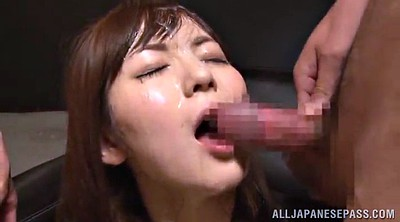 Asian handjob, Asian bukkake