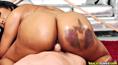 Oil big tits, Thick ass