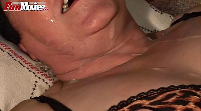 Orgasm mature, Mature orgasm, Cum on tits