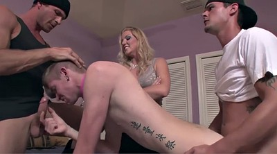 Mistress, Submissive, Gangbang anal
