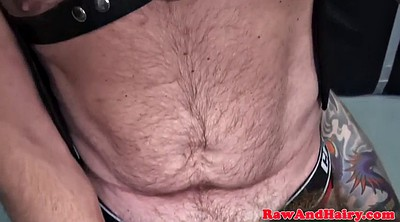 Group, Bear, Gay bear, Chained, Mature chubby, Chubby bear