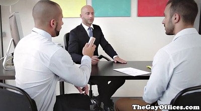 Sex in office, Gay hunk
