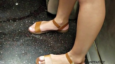 Candid feet, Toes, White feet, Candid foot