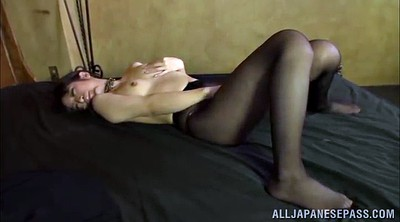 Asian model, Asian pantyhose