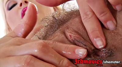 Blonde hairy, Showe, Show pussy