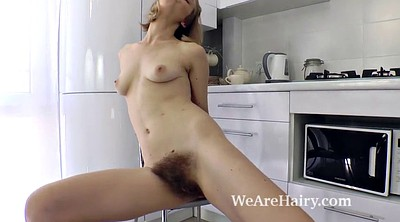 Undressing, Naked, Hairy russian