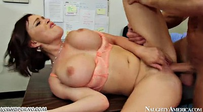 Secretary, Natural boobs, Punishment