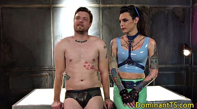 Deepthroat, Deep, Shemale bdsm, Shemale domination