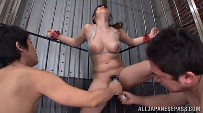 Asian double, Shoot, Hairy tits, Bondage orgasm, Shoot in, Shooting