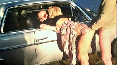 Threesome, Swedish, Outdoor creampie