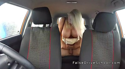 Car, Big huge tits