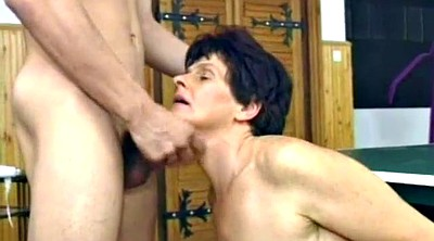 Grandma, Old and young, Granny hairy, Mature facial, Hairy mature