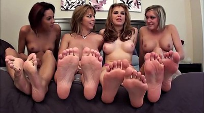 Feet, Erotic threesome