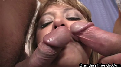 Hot riding, Grannies, Mature and young