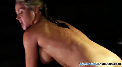 Squirt, Squirting, Squirt face, Hairy lesbians